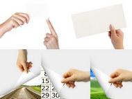 5张手势图片