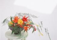 家居插花艺术图片