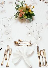 婚礼餐桌图片