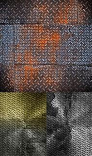 实用金属钢板材质背景图片系列(一)