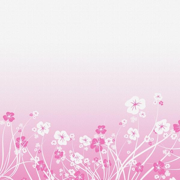 粉色花纹背景图片-素彩图片大全