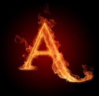 火焰字母图片(2)