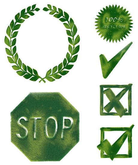 麦穗,对勾,禁止,保护,允许,交叉,选择,错误,花边,圆形,环保,草坪,绿色