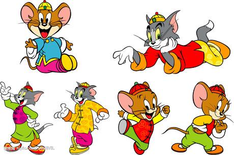 tomandjerry猫和老鼠卡通图片
