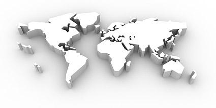 3d立体世界地图图片