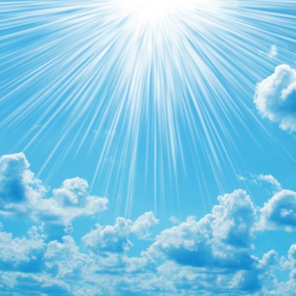 蓝天白云图片-素彩图片大全