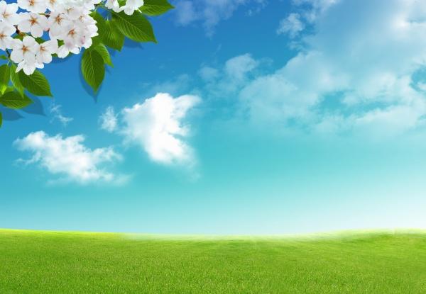 草地天空图片,风景图片,天空图片,天空,草地,风景
