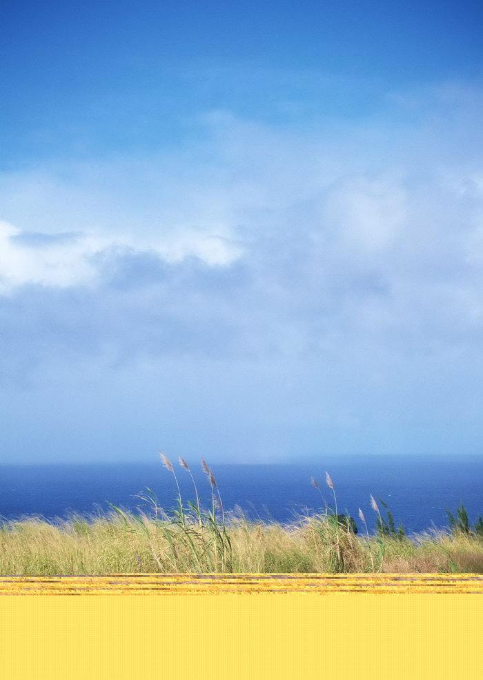 蓝天白云天空美景图片