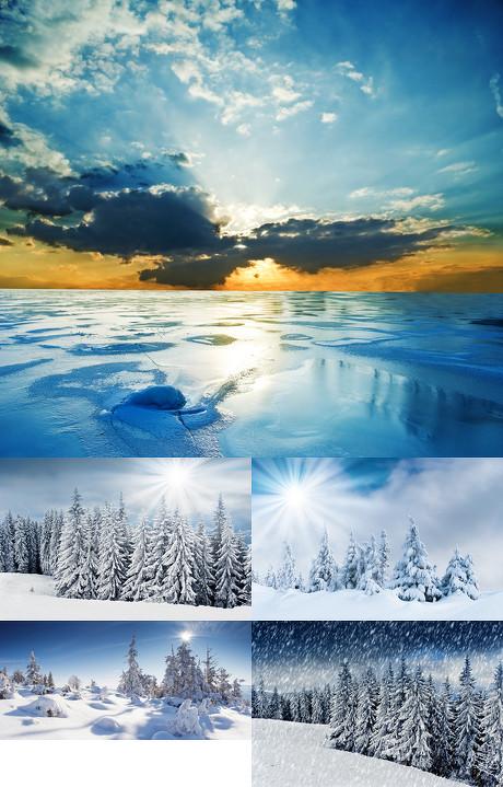 雪地景色(三)
