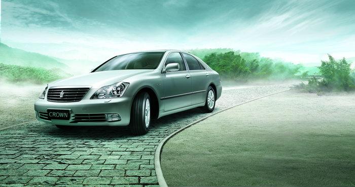 丰田皇冠汽车图片高清图片