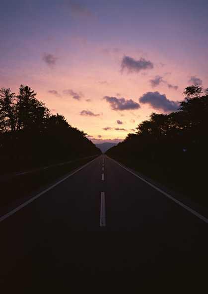 有关公路的风景图片