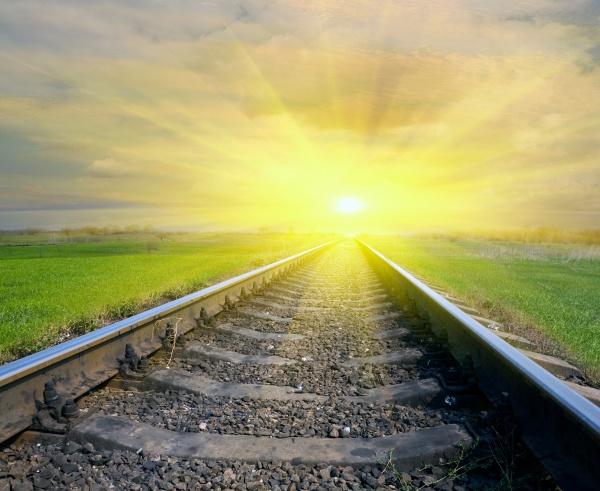 铁路风景图片-素彩图片大全