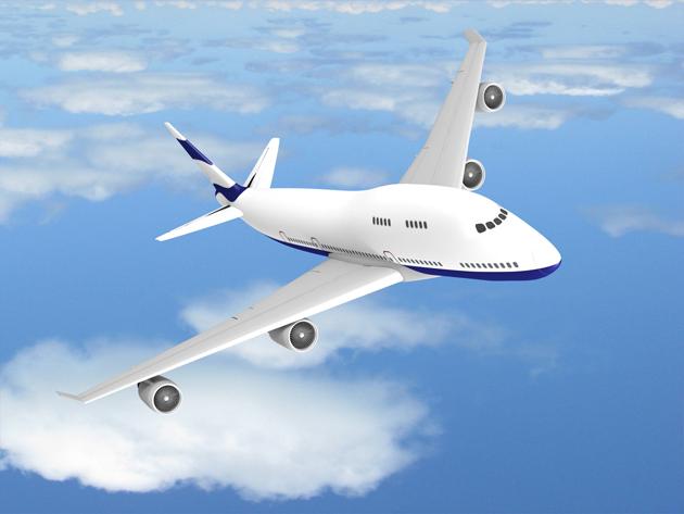 航空飞机图片-素彩图片大全