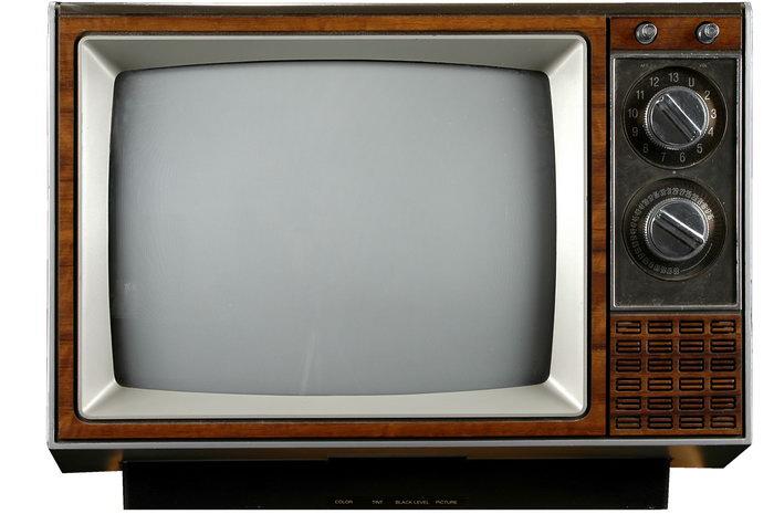 黑白电视机图片