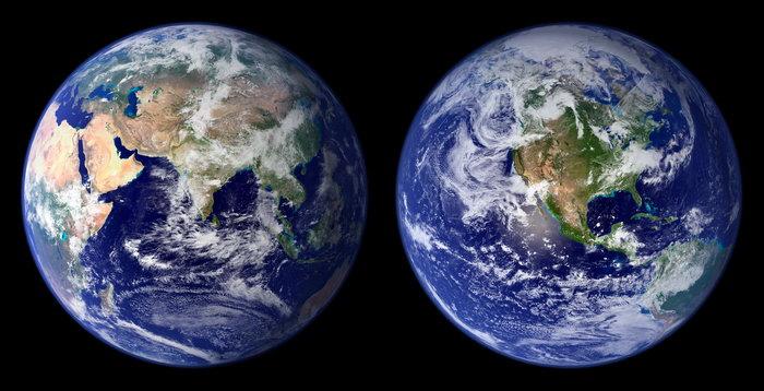 地球图片,四张地球,太空风景,宇宙星空,摄影,现代科技,3689x3695像素