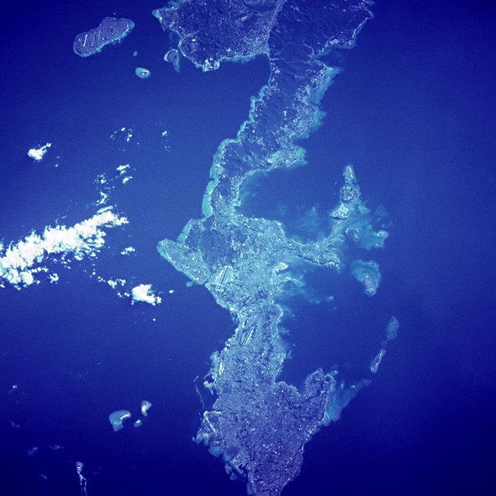 航拍海洋岛屿图片,航拍海洋岛屿,太空风景,宇宙星空,天文,现代科技,20