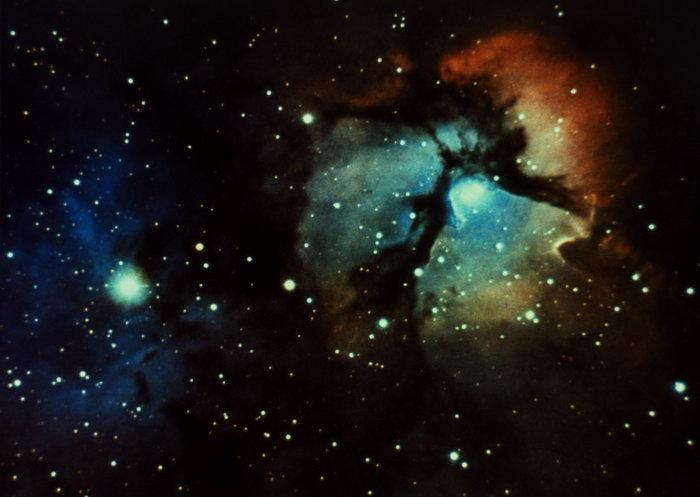 星光星空图片,星光星空,太空风景,宇宙星空,天文,现代科技,2094x2950