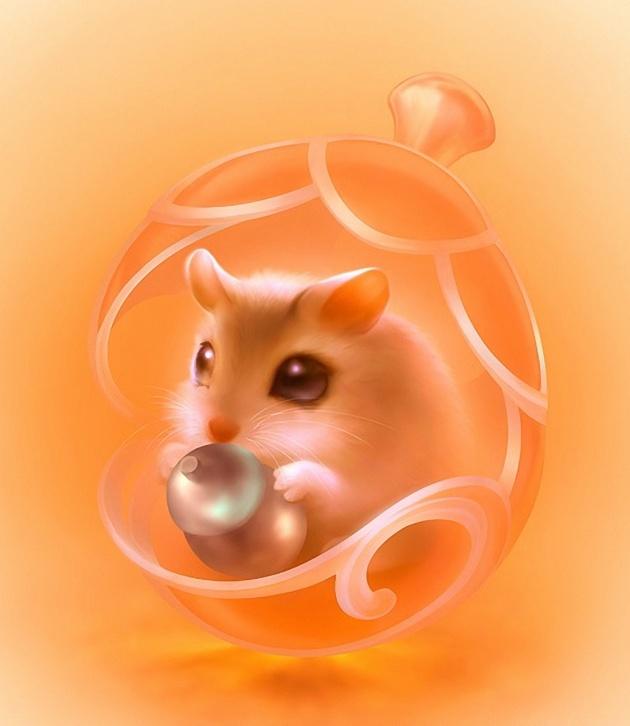 可爱老鼠图片-素彩图片大全