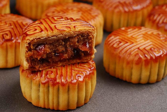 中秋月饼美食图片