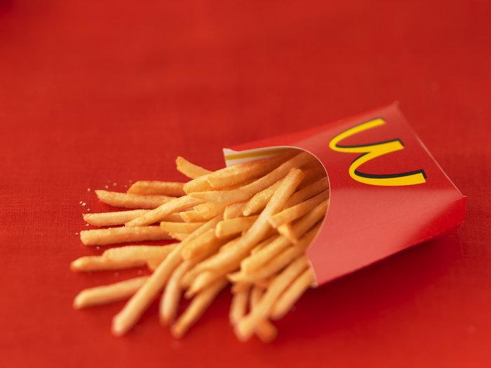 麦当劳炸薯条美食图片