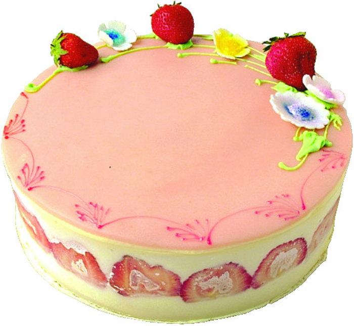 生日快乐蛋糕美食图片-素彩图片大全