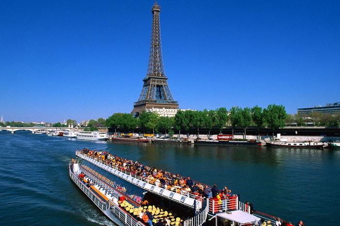 巴黎艾菲尔铁塔图片-素彩图片大全