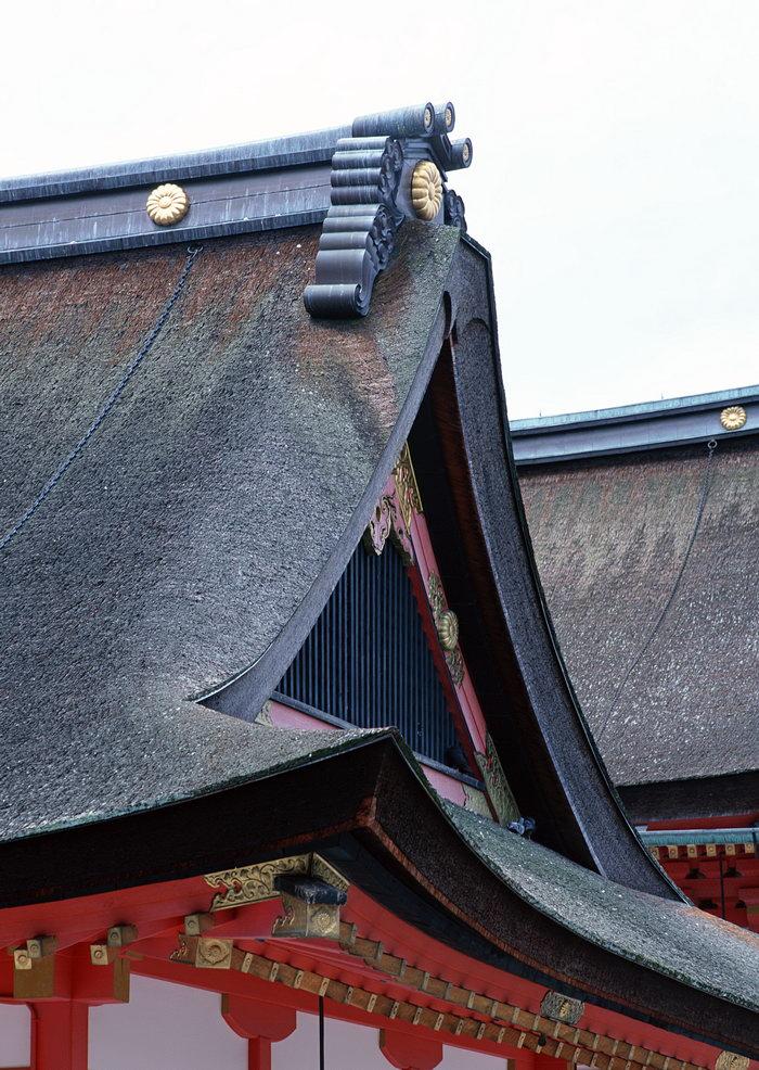 古代屋顶古建筑