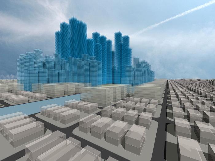 抽象建筑建筑设计图片