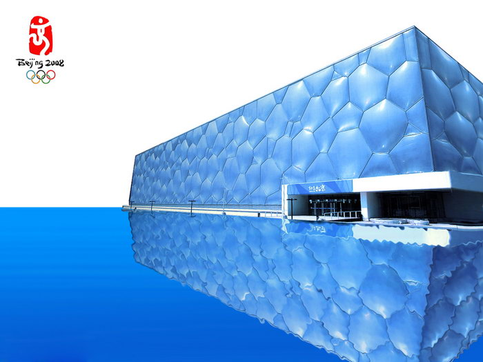 水立方建筑设计图片