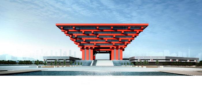 世博会中国馆建筑设计图片