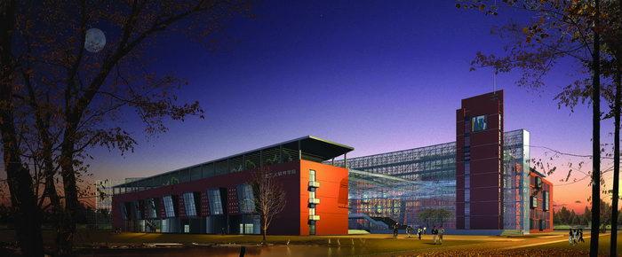 北工大软件学院效果图建筑设计图片