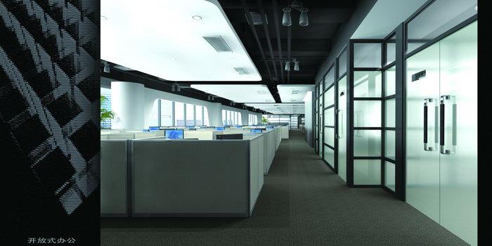开放式办公空间建筑设计图片