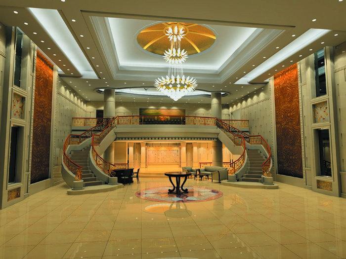 酒店大堂大厅建筑设计图片图片