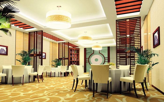 酒店餐厅效果图建筑设计图片