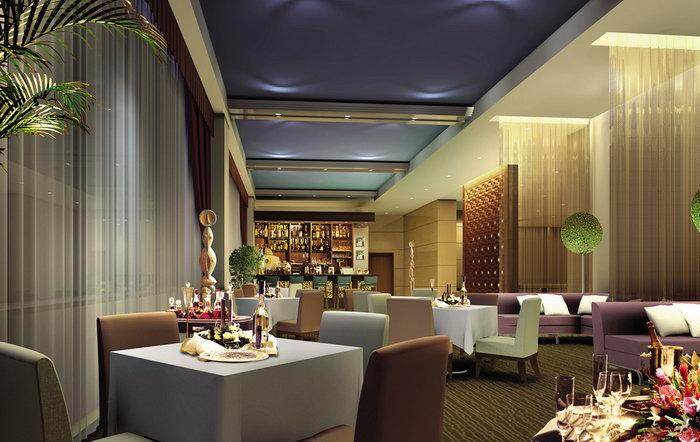酒店餐厅摆设建筑设计图片