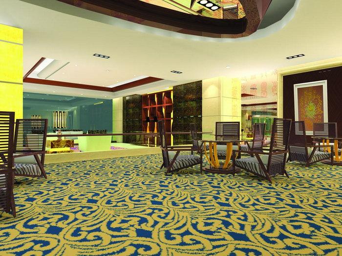 酒店大堂设计效果图建筑设计图片