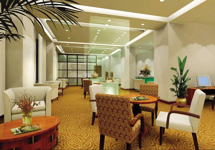 酒店餐厅装修设计建筑设计图片