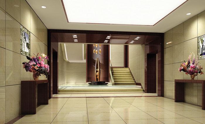 酒店宾馆大堂入口建筑设计图片