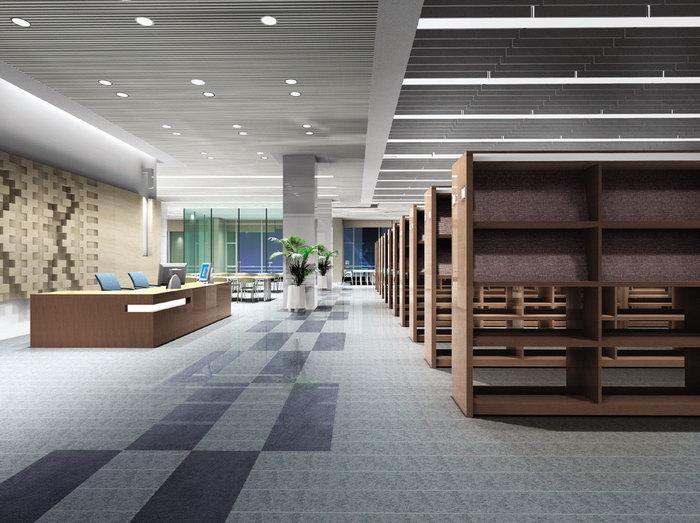 图书馆设计装饰建筑设计图片