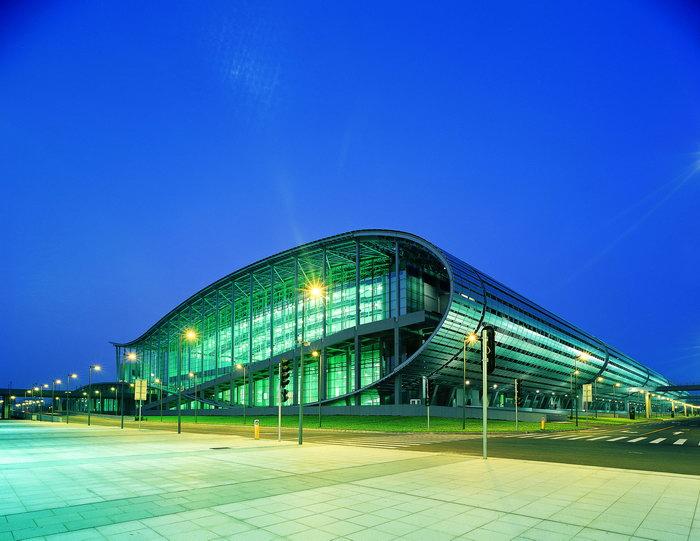 广州琶洲国际会展中心外景,夜景,国内外建筑,摄影,城市建筑设计,3267x