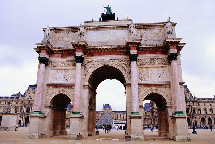 法国巴黎卢浮宫,巴黎建筑,法国旅游,法国风景,法国名胜,城市建筑,建筑