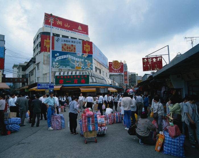 深圳街道风景图片