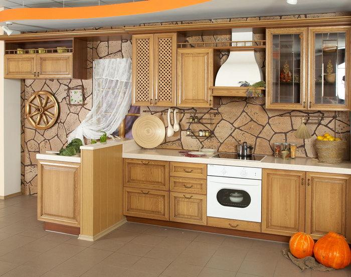 欧式厨房图片-素彩图片大全