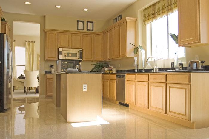 欧式开放式厨房图片