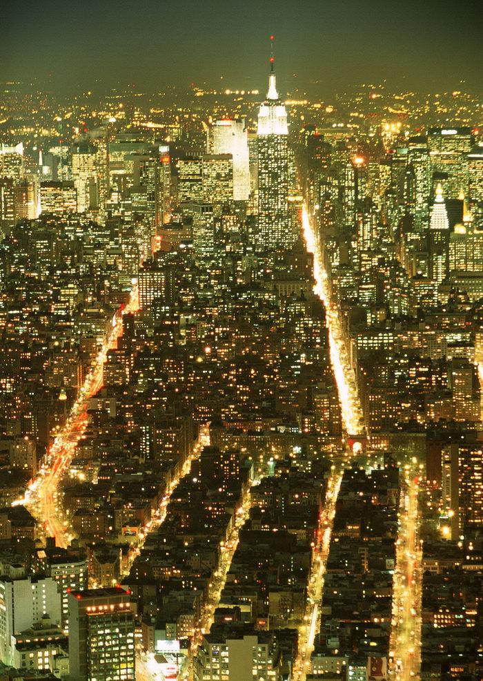 美国夜景图片
