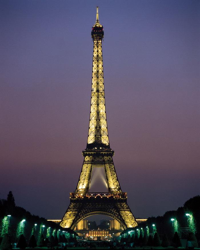 巴黎铁塔图片-素彩图片大全