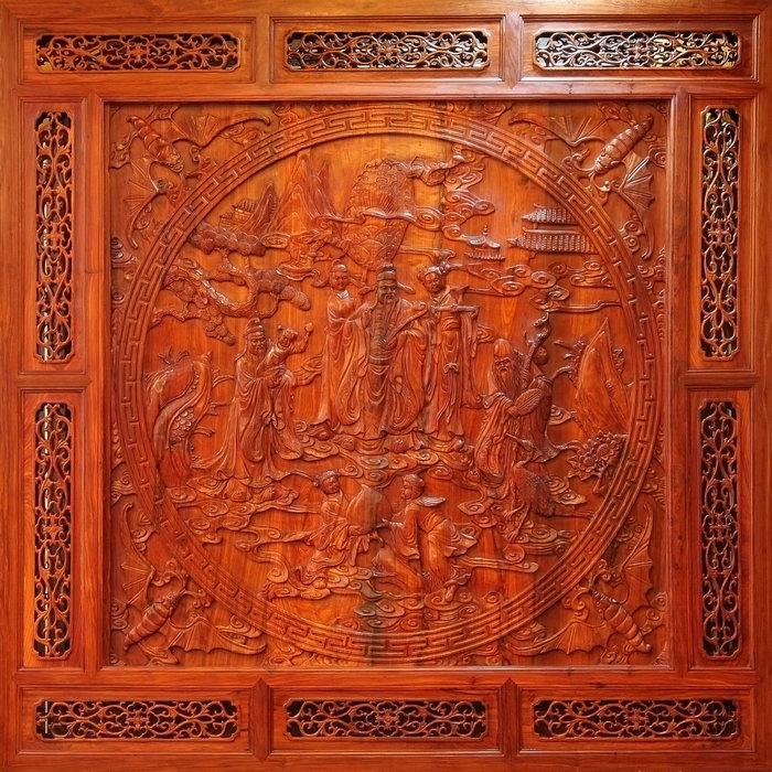 木雕图片-素彩图片大全