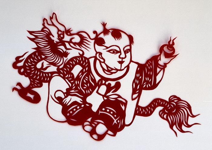 中国剪纸图片中国剪纸吉祥