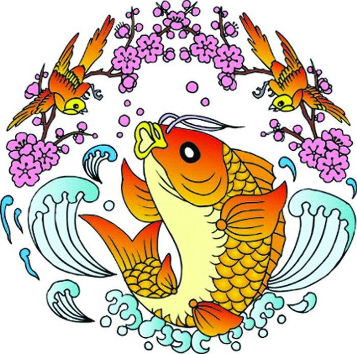 鲤鱼图片,鲤鱼,动物,吉祥图案,传统图案,1181x1172像素