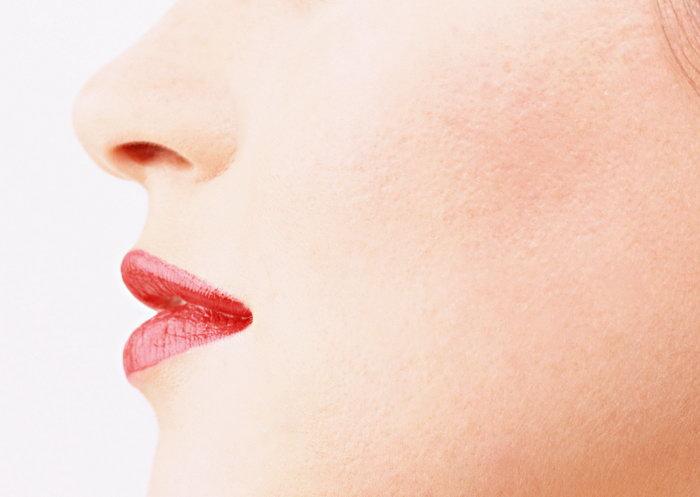 女性嘴唇侧面图片,女性嘴唇侧面,脸部表情,摄影,人物写真,2950x2094